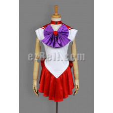 NEW! Sailor Moon Sailor Mars Rei Hino Cosplay Costume