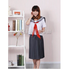 New! Natsume's Book of Friends Reiko Natsume Cosplay School Dress