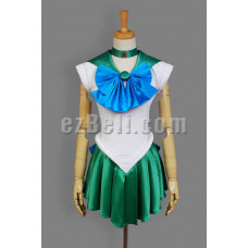 NEW! Sailor Moon Sailor Neptune Kaiou Michiru Cosplay Costume