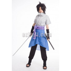 New! Naruto Shippūden Sasuke Uchiha 4th Cosplay Costume
