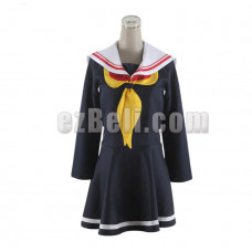 New! No Game No Life Shiro Dress Cosplay Costume Type B