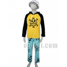 One Piece Trafalgar·Law Cotton Cosplay Costume