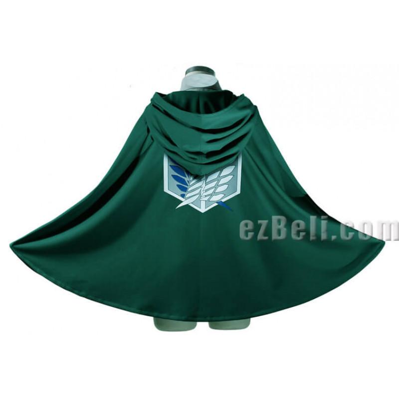 Attack on Titan 進撃の巨人 Shingeki no Kyojin - Green Cloak