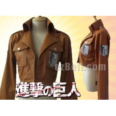 Attack on Titan 進撃の巨人 Shingeki no Kyojin - PU Leather Jacket