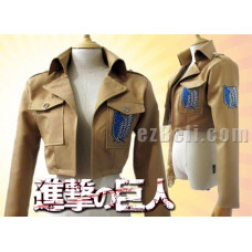 Attack on Titan 進撃の巨人 Shingeki no Kyojin - Uniform Fabric Jacket