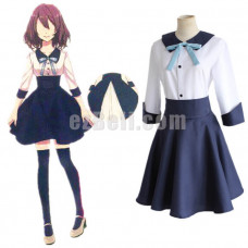 New! Game 100 Sleeping Princes And the Kingdom of Dreams Female Protagonist/Heroine Dress Cosplay Costume