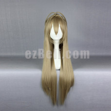 New! Anime Amagi Brilliant Park Sento Isuzu Long Cosplay Wig