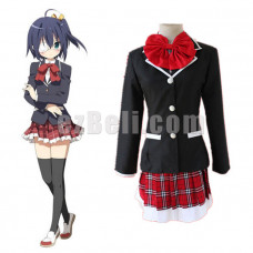 New! Amine Chuunibyou Demo Koi Ga Shitai Takanashi Rikka School Uniform Cosplay Costume