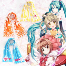New! Knitted Soft Anime Theme Designed Stylish Scarf