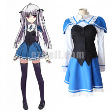 New! Anime Absolute Duo Julie Sigtuna Cosplay Costume Maid Costume Dress