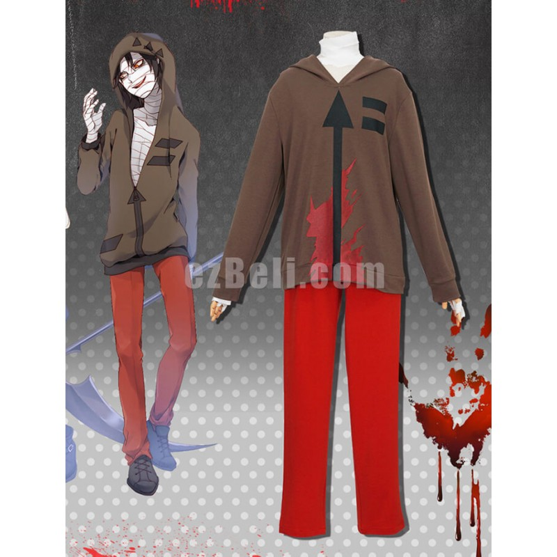 New! Angels Of Death Zack Isaac Foster Cosplay Costume