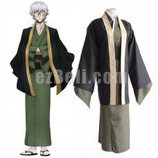 New! Anime Bungou Bungo Stray Dogs Fukuzawa Yukichi Kimono Cosplay Costumes