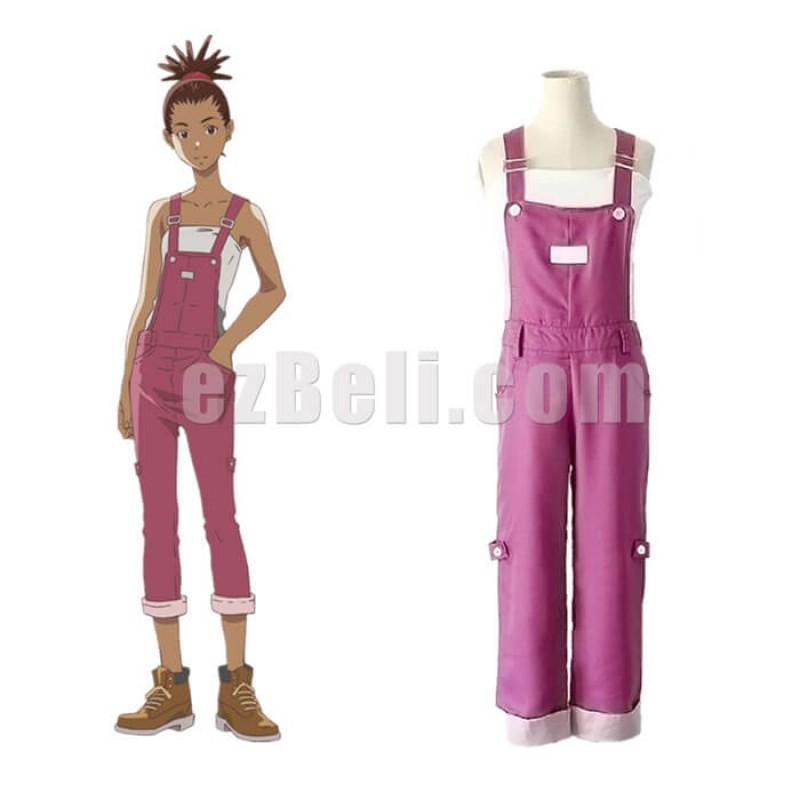 New! Anime Carole & Tuesday Carole Stanley Kyaroru Bib Pants Cosplay Costume