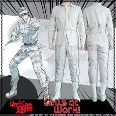 New! Cells at Work Cells At Work Hataraku Saibou Neutrophil White Blood Cell Cosplay Costume
