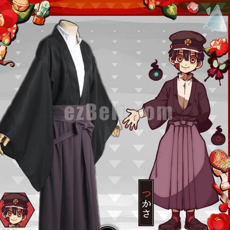 New! Anime Toilet-Bound Jibaku Shounen Hanako Kun Tsukasa Yugi Cosplay Costume Japanese Kimono Uniform