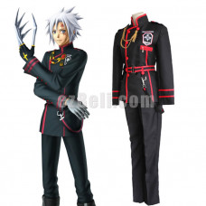 New! D.Gray-man Allen Walker Cosplay Costumes Red Black Men Uniform Cosplay Costume