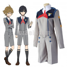 New! Anime DARLING in the FRANXX Stamen Hiro Zorome Goro Mitsuru Futoshi Cosplay Costume