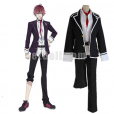 New! Anime Diabolik Lovers Sakamaki Ayato Cosplay Costume School Uniforms