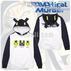 New! Anime Dramatical Murder DMMD Hooded Sweatshirt Casual Cosplay Rabbit Ears Pullover