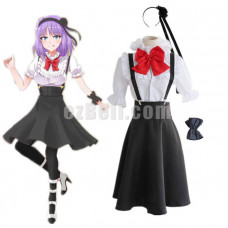 New! Anime Dagashi Kashi Hotaru Shidare Role Cosplay Costume Dress School Uniform
