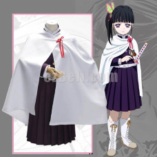 New! Anime Demon Slayer Kimetsu no Yaiba Tsuyuri Kanawo Cloak Cosplay Costume