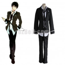 New! Anime Diabolik Lovers  More Blood Mukami Ruki Cosplay Costume School Uniforms
