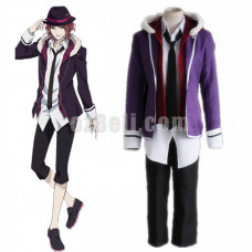 New! Anime Diabolik Lovers Sakamaki Raito Cosplay Costume School Uniforms