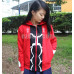 New! Anime Fate/Stay Night Archer Shirō Emiya Hoodies Cosplay Red Hooded Jacket