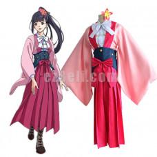 New! Anime Kabaneri of Iron Fortress Yomogawa Ayame Kimono Cosplay Costume