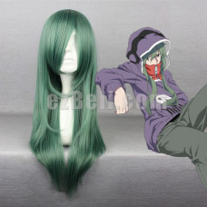 New! Anime Kagerou Project Kido Tsubomi Mixed Green Cosplay Wig