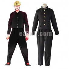 New! Anime Japan Kyou Kara Ore Wa Shinji Itou Takashi Mitsuhashi Black Coat Pants Men Uniform Cosplay Costume