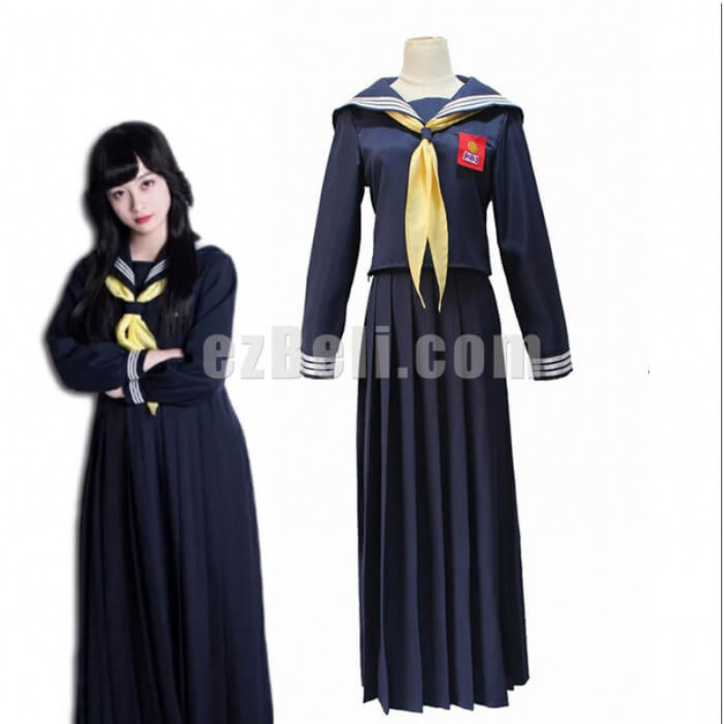 9a574935b Anime Japan Kyou Kara Ore Wa Kyoko Hayagawa Sailor School Uniform Cosplay  Costume