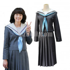 New! Anime Japan Kyou Kara Ore Wa Riko Akasaka Sailor School Uniform Cosplay Costume