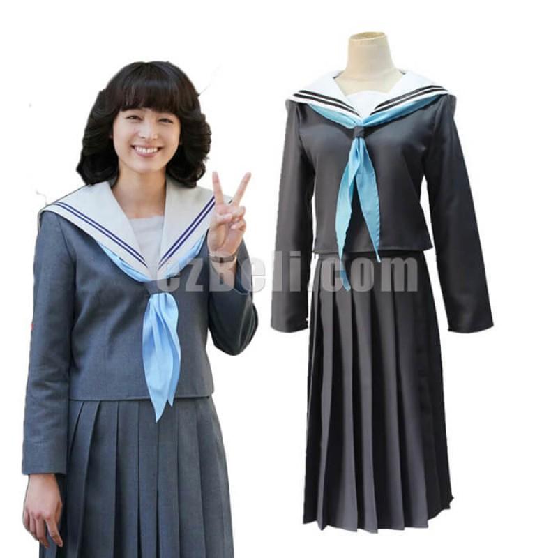 New! Anime Japan Kyou Kara Ore Wa Riko Akasaka Sailor School Uniform Cosplay Costume