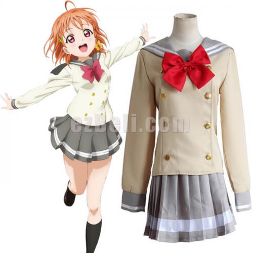 Aqours Love Live Sunshine 1 list Chika Takami Summer Dress Cosplay Costume