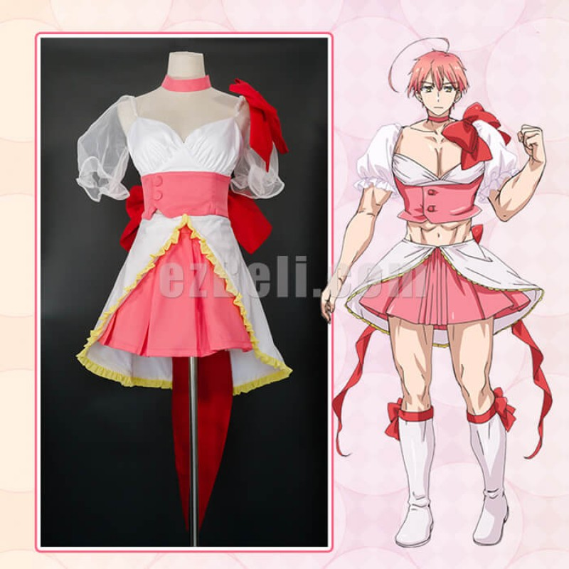 New! Anime Magical Girl Ore Cosplay Costumes Uno Saki Cosplay Costume Mahou Shoujo Ore Saki Uno Cosplay Costume