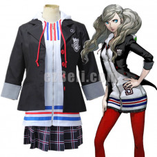 New! Anime Game Persona 5 Anne Takamaki Uniform Cosplay Costume