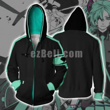 New! Anime Vocaloid Hatsune Miku Unisex Zipper Hip Hop Casual Hoodie Jacket