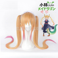 New! Anime Miss Kobayashi's Dragon Maid Tohru Long Cosplay Wig