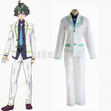 New! Anime Myriad Colors Phantom World Haruhiko Ichijo College Japanese Boys School Uniforms Costume