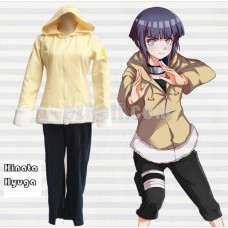 New! Anime Naruto Shippūden Hinata Hyuuga Jacket Pants Cosplay Costume