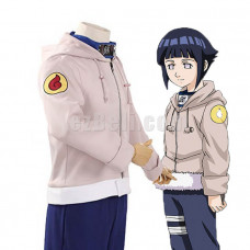 New! Anime Naruto Shippūden Hinata Hyuuga Jacket Pants Cosplay Costume Type 2