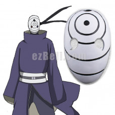 New! Anime Naruto Uchiha Obito Tobi Mask Cosplay Mask Costume Props