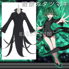 New! Anime One punch man Senritsu no Tatsumaki Cosplay Costume