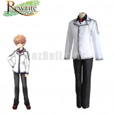 New! Anime Rewrite Tennouji Kotarou School Uniform Cosplay Costumes