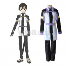 New! Anime SAO Sword Art Online Ordinal Scale Kirigaya Kazuto Uniform Cosplay Costumes
