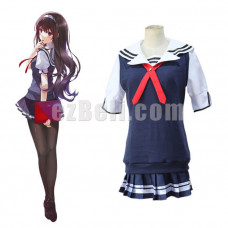 New! Anime Saekano Saenai Heroine No Sodate-Kata Cosplay Utaha Kasumigaoka Japanese School Uniform Cosplay Costume
