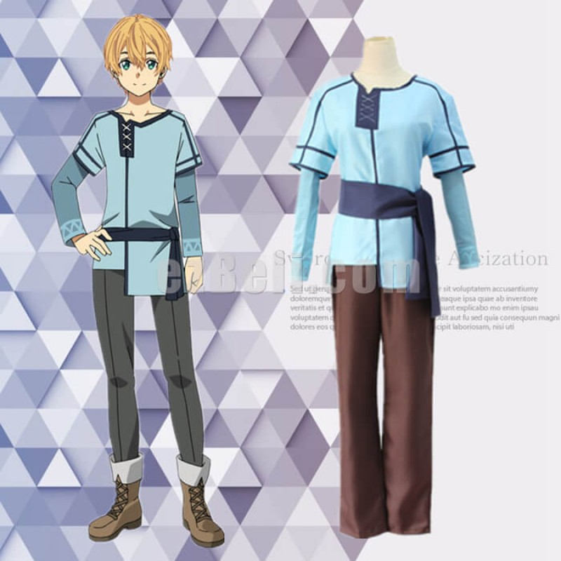 New! Anime SAO Sword Art Online Alicization Eugeo Adult Cosplay Costumes