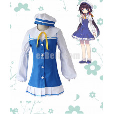 New! The Ryuo's Work is Never Done! Anime Ryuoh no Oshigoto! Ai Hinatsuru Dress Uniforms Cosplay Costume