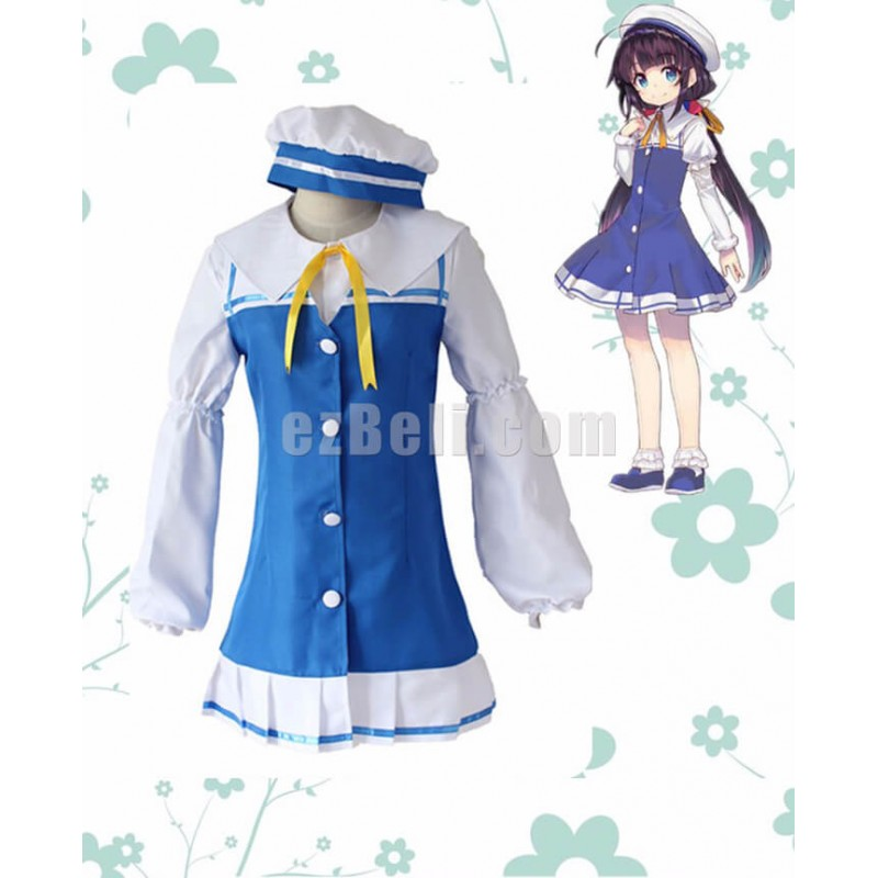 New! The Ryuo's Work is Never Done! Anime Ryuoh no Oshigoto! Ai Hinatsuru Dress Uniforms Cosplay Costume